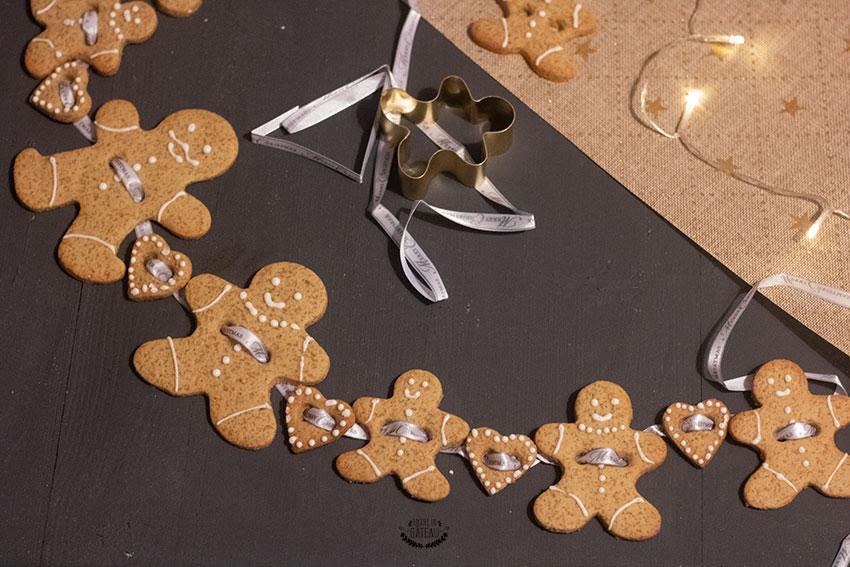 gingerbread biscuits noël