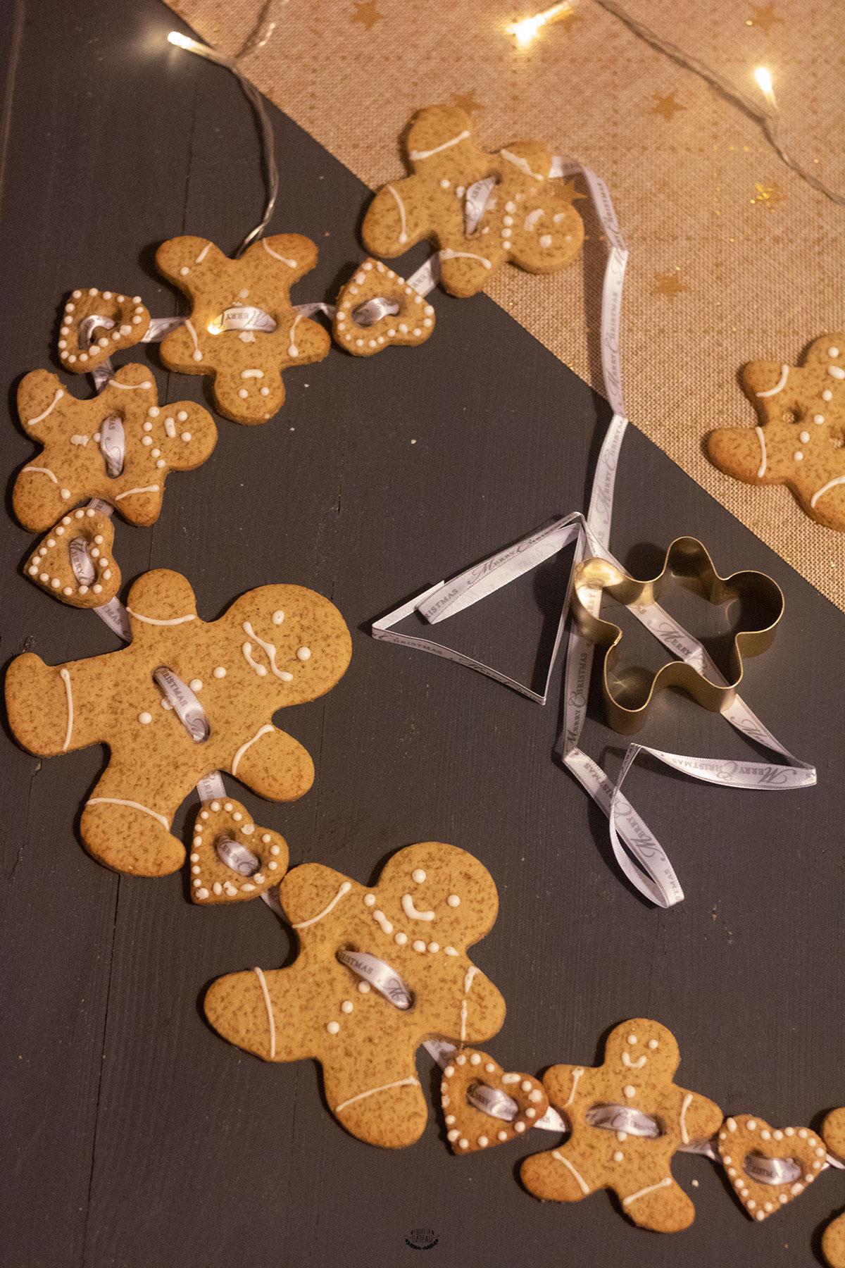 gingerbread guirlande noël