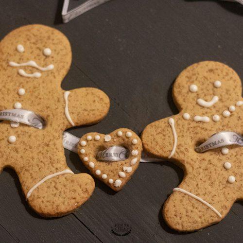 gingerbread recette sablés noël