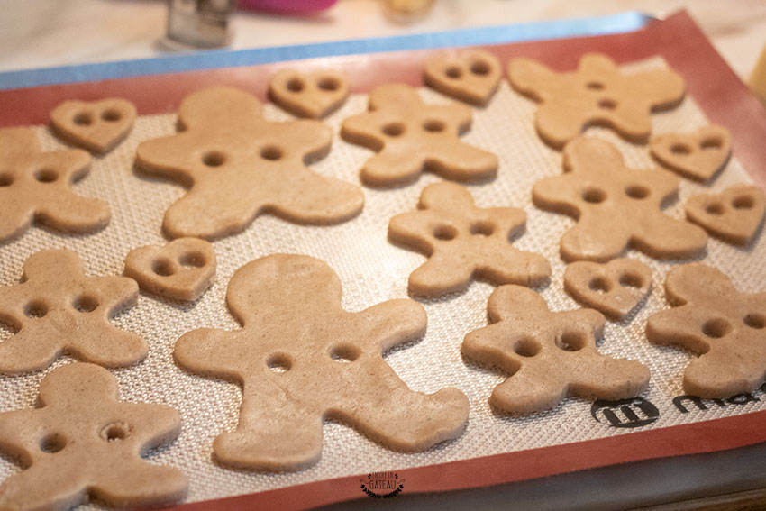 gingerbread trous ruban