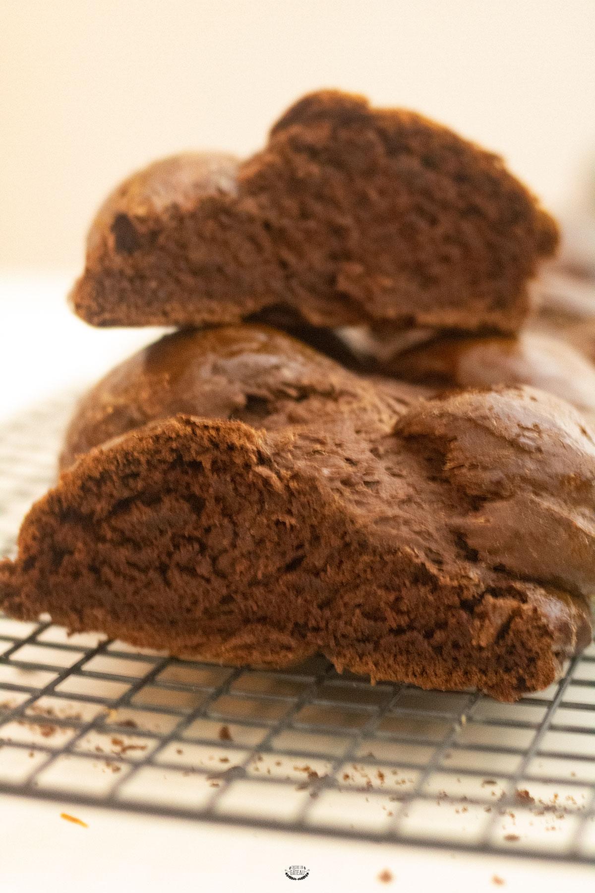 recette brioche au chocolat