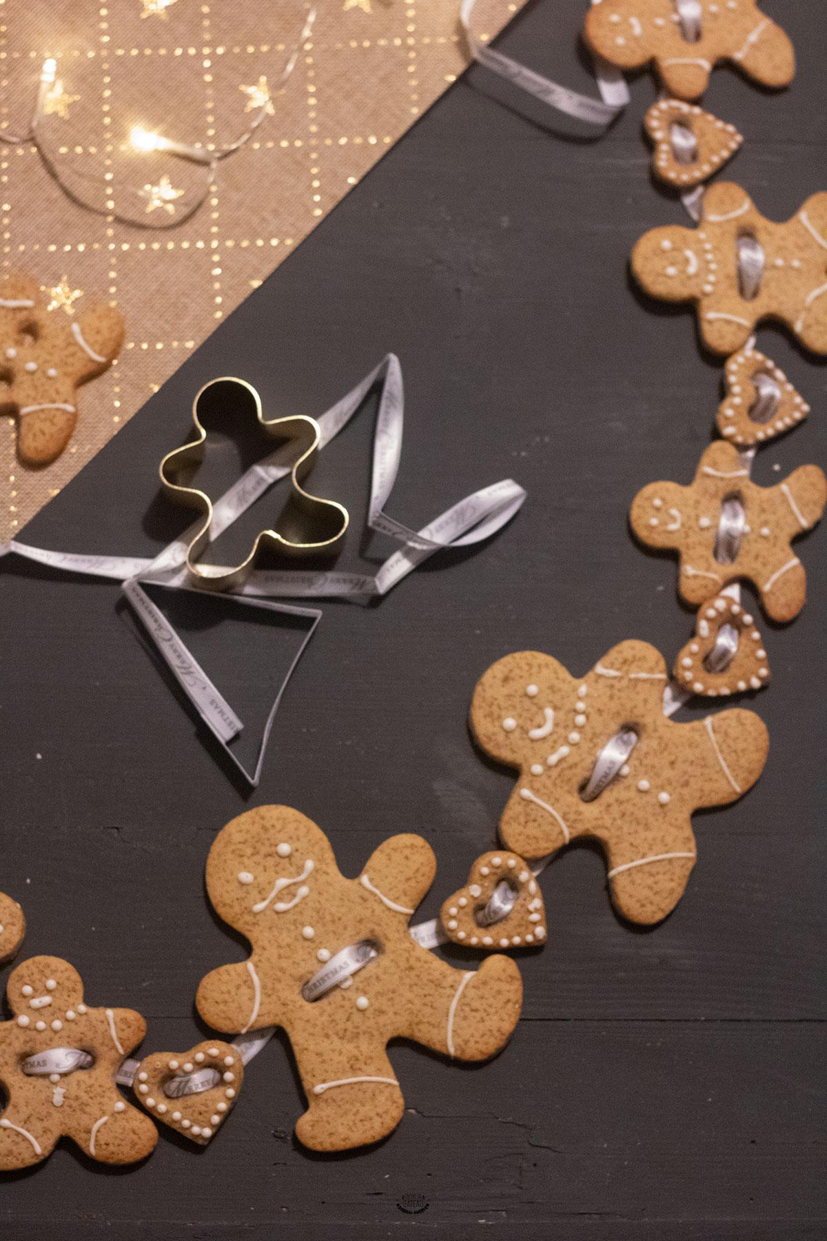 recette gingerbread noel