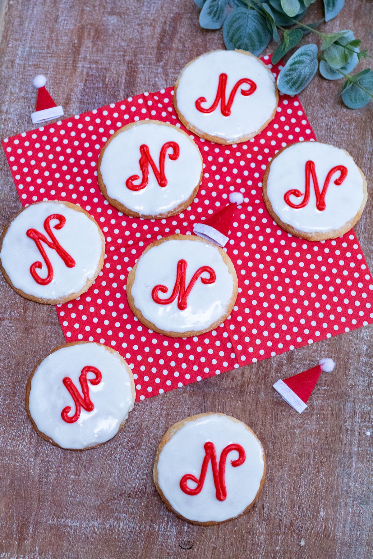 ronds saint nicolas biscuits amandes