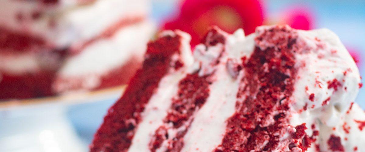 red velvet cake facile