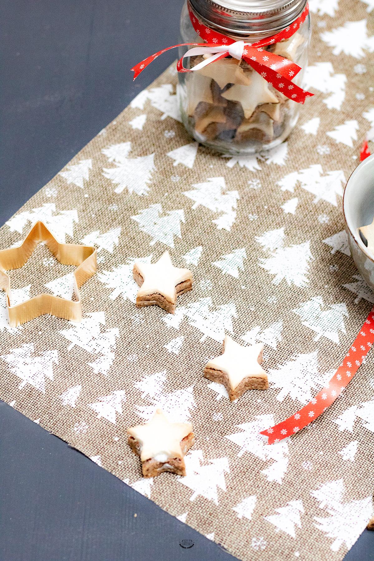 biscuit de l'avent étoiles à la cannelle