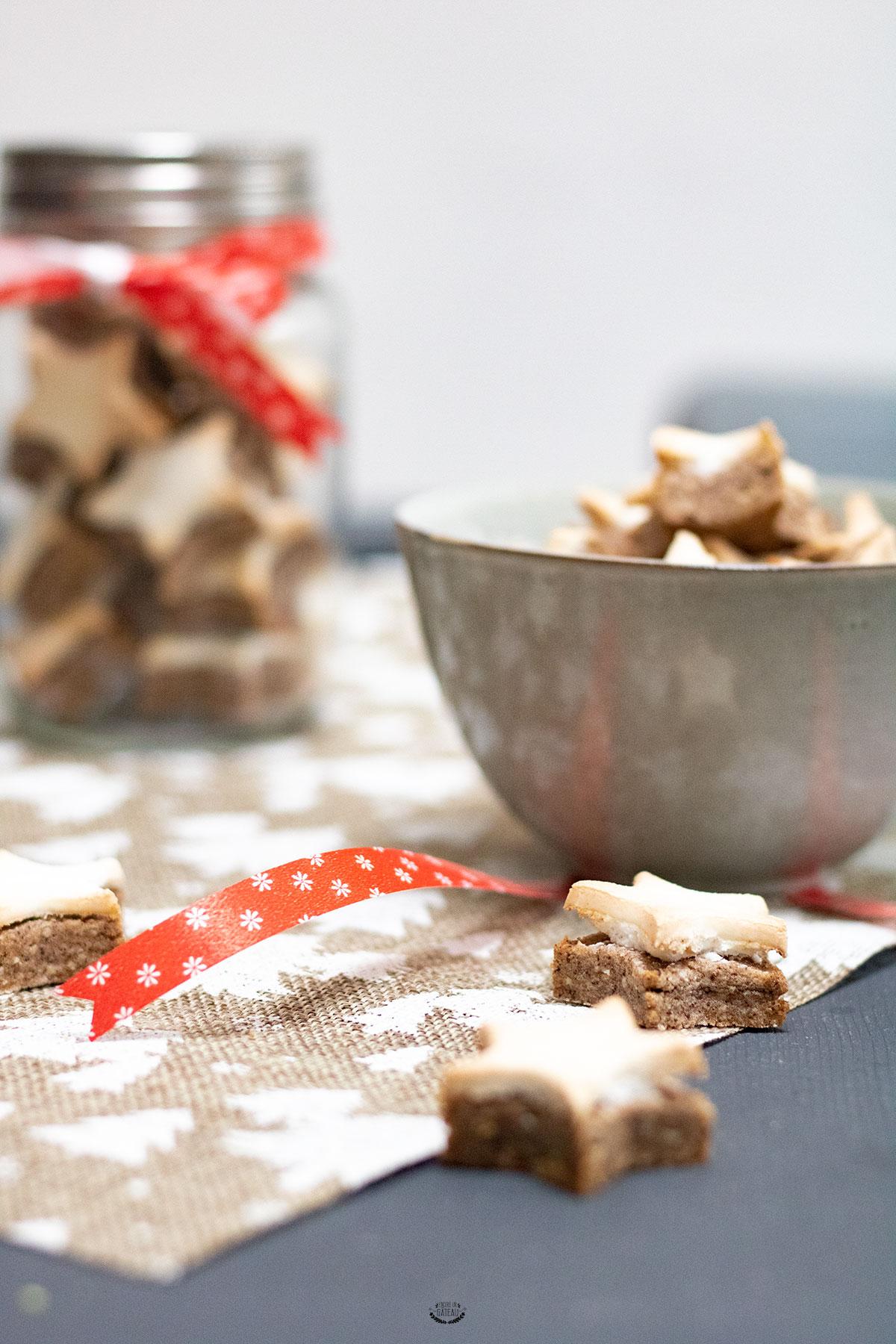 biscuits étoiles à la cannelle felder
