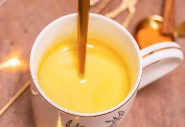 golden latte lait d'or au curcuma
