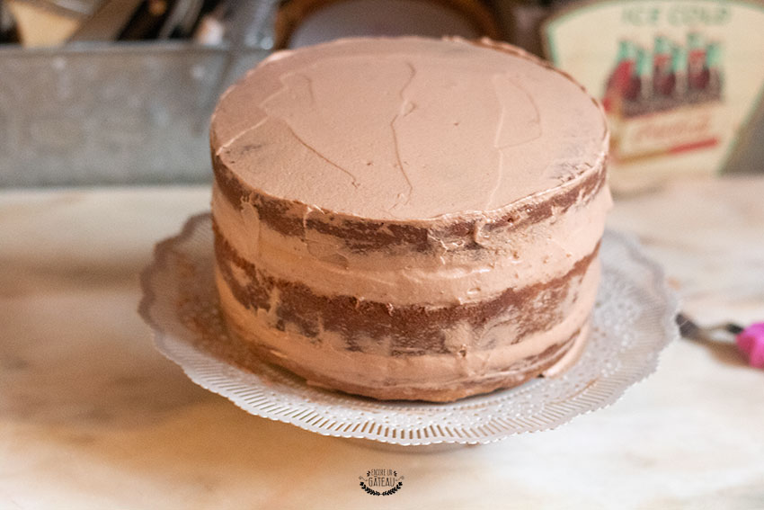 lissage drip cake kinder
