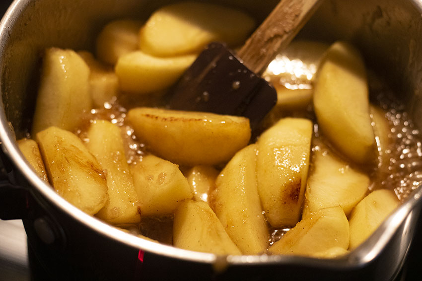 pommes tarte tatin