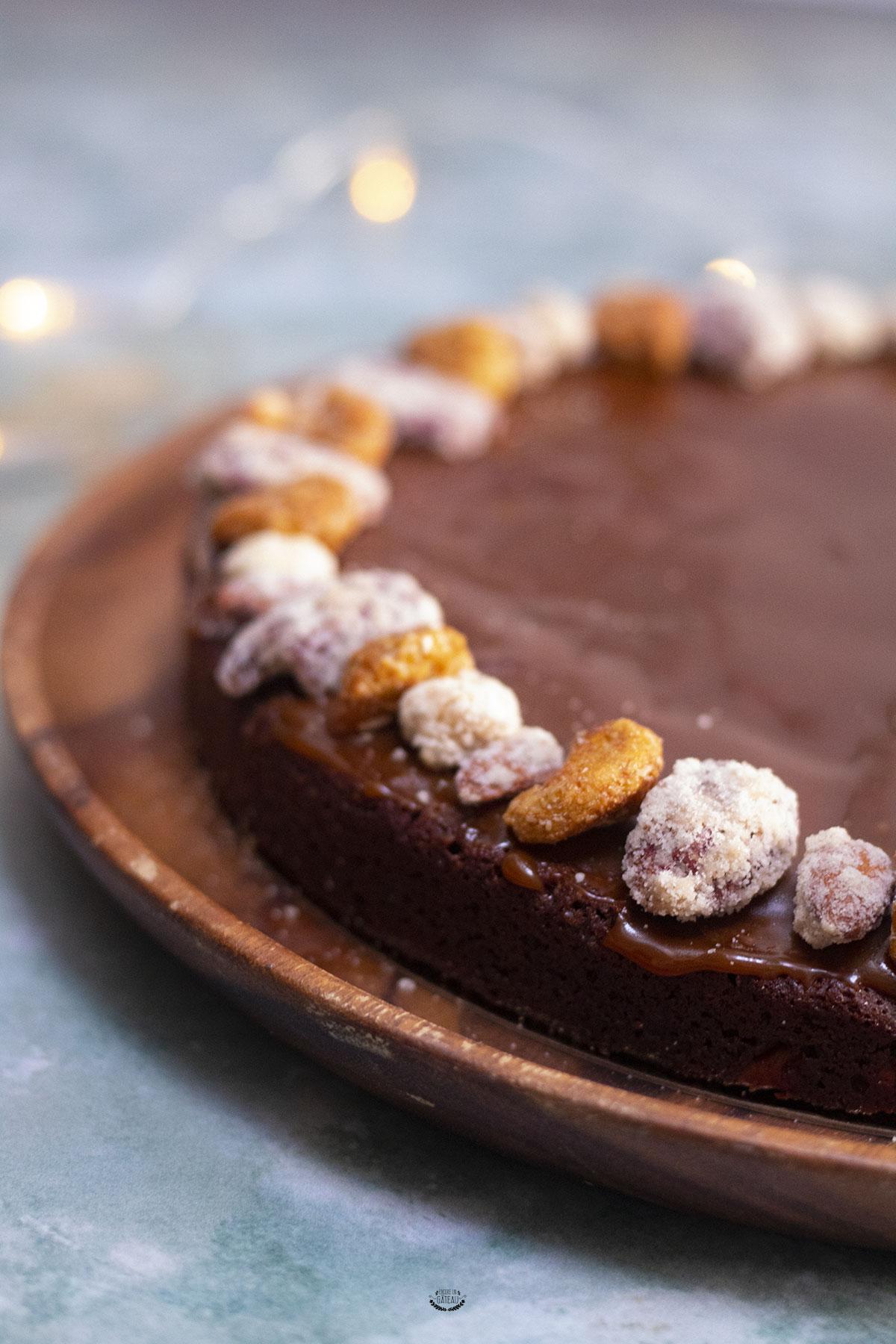 recette du brownie caramel de felder