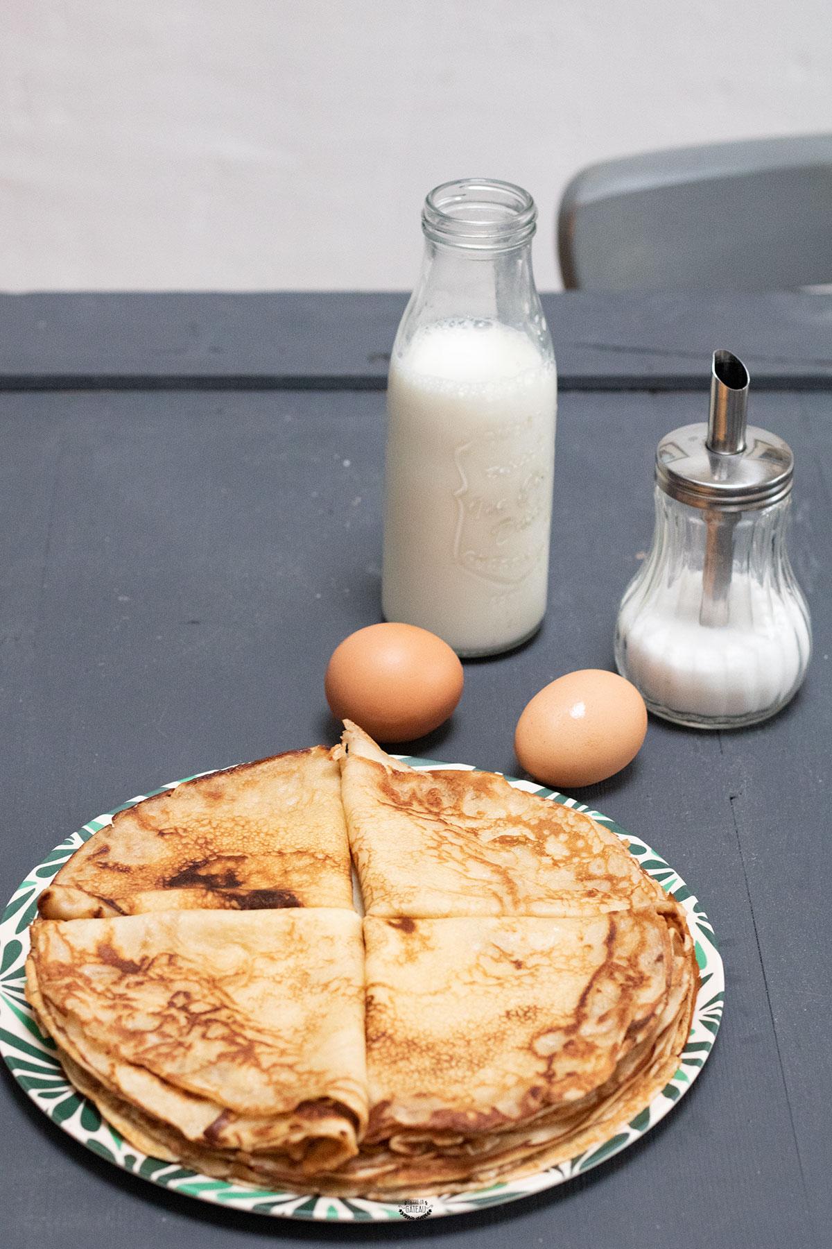 faire une pâte à crêpes
