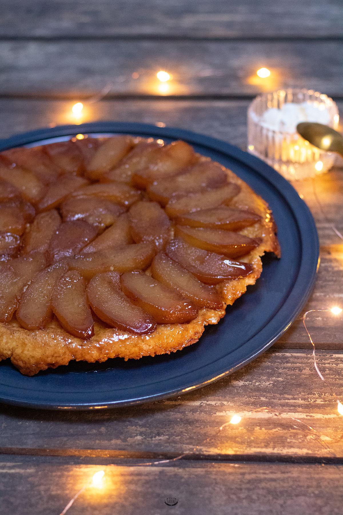 tarte tatin classique aux pommes