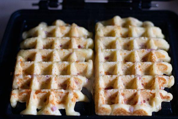cuisson gaufres salées