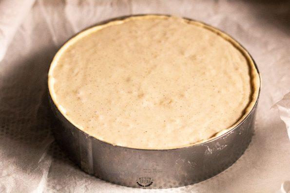 flan pâtissier avant cuisson