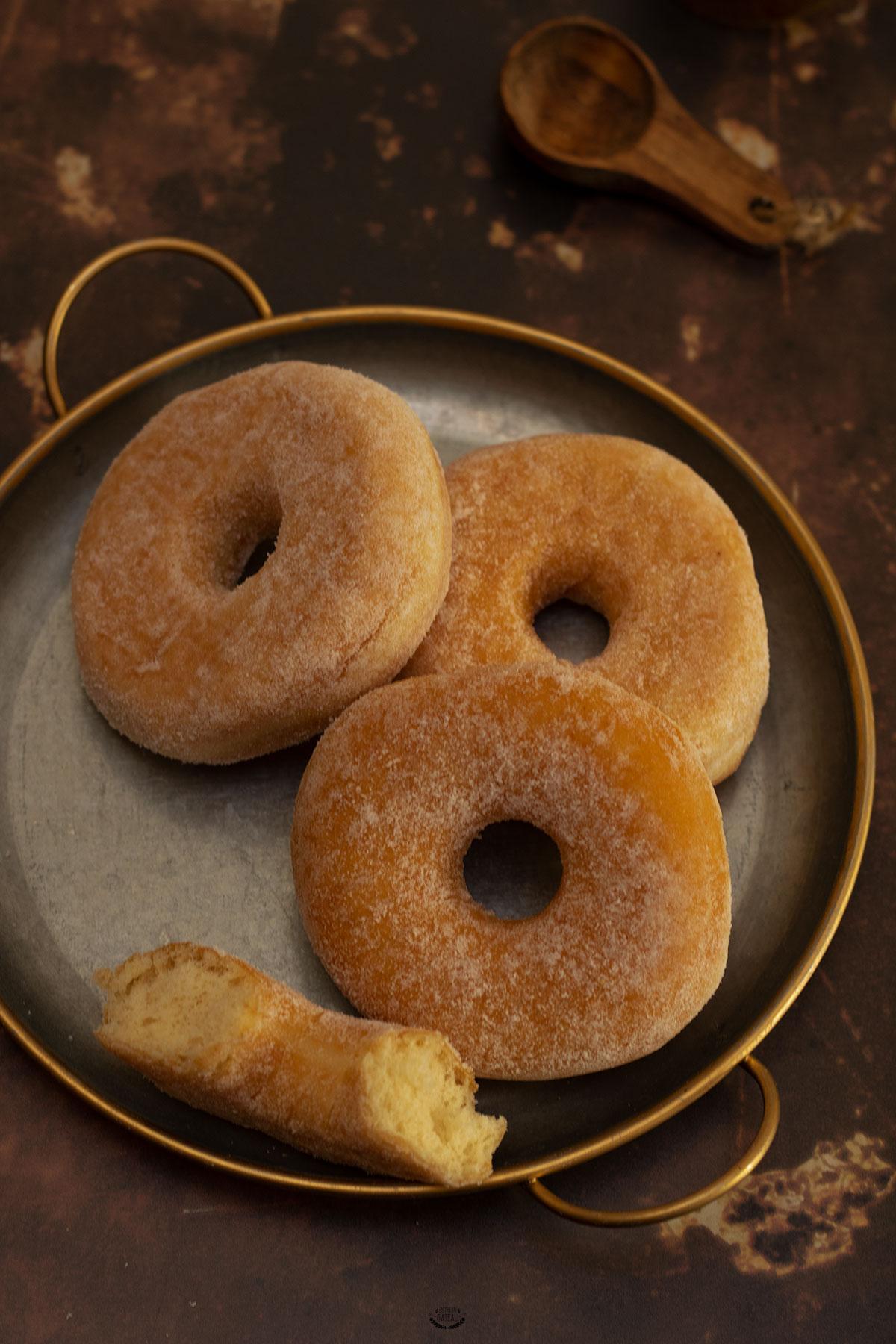 beignets sans friture cuisson au four