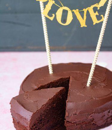 devil's food cake gâteau au chocolat