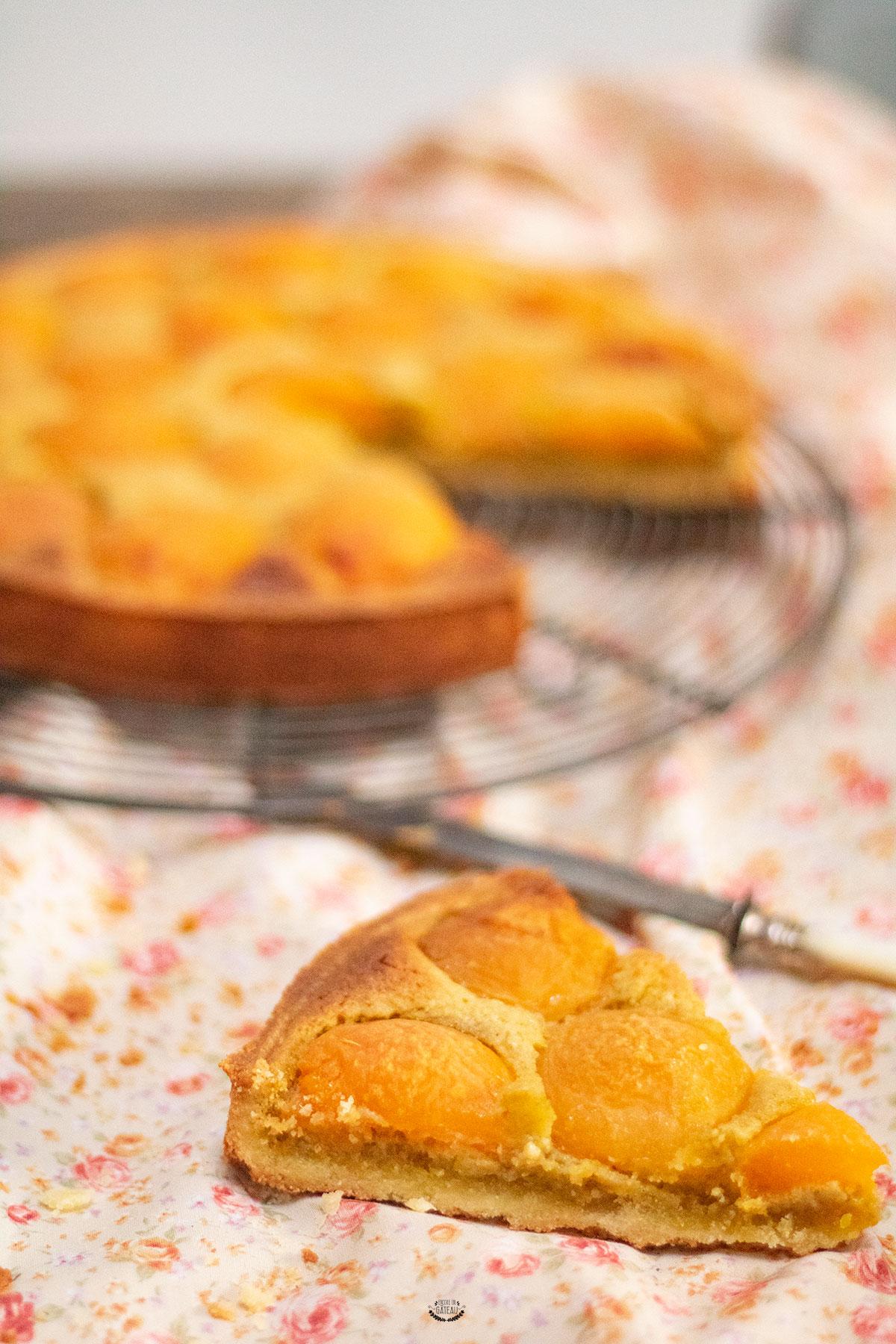 tarte pistache abricot