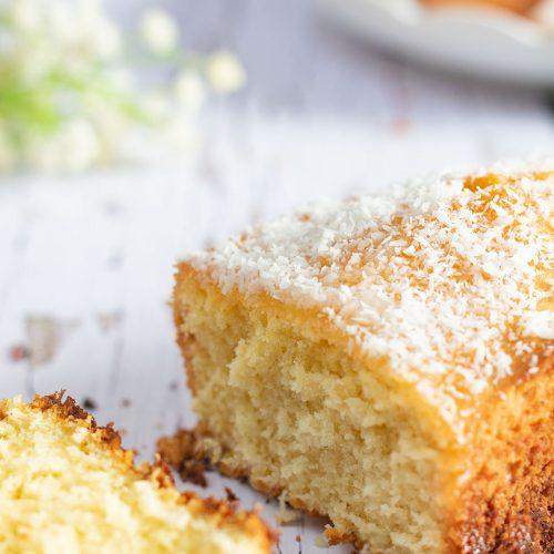Cake A La Noix De Coco Recette Facile