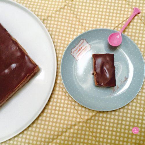 entremets au chocolat et au café