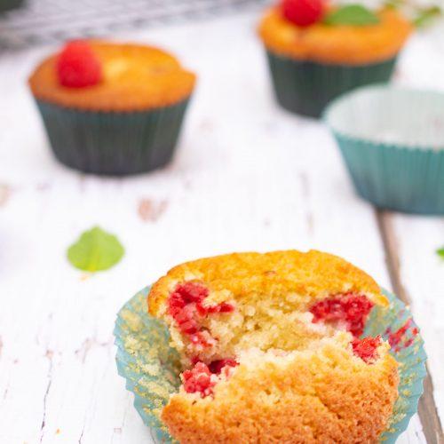muffins faciles framboises
