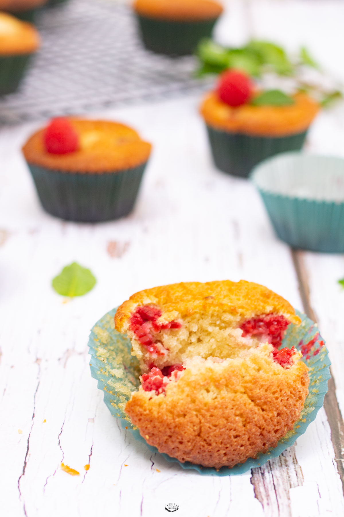 muffins faciles framboises