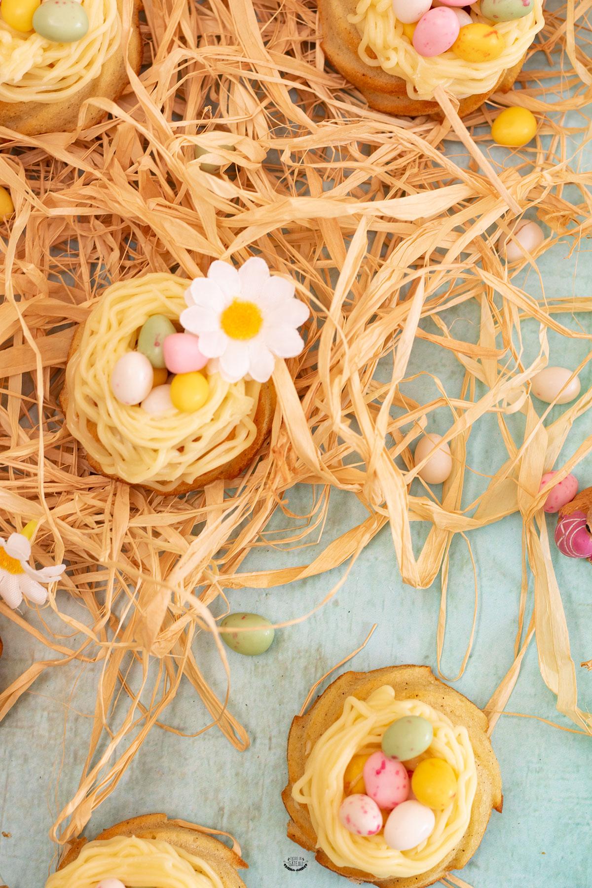 nids de pâques chocolat