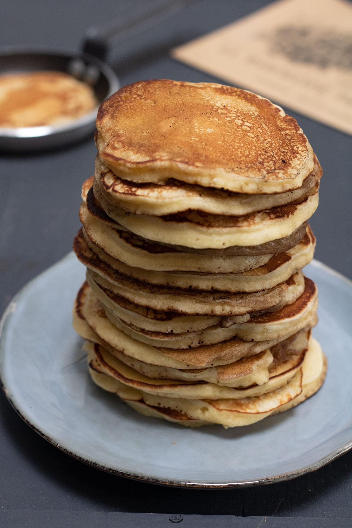 recette des pancakes moelleux