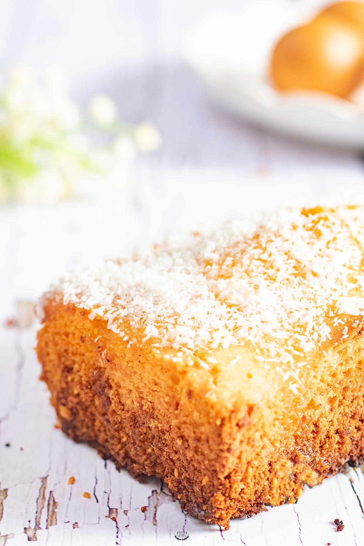 recette cake coco