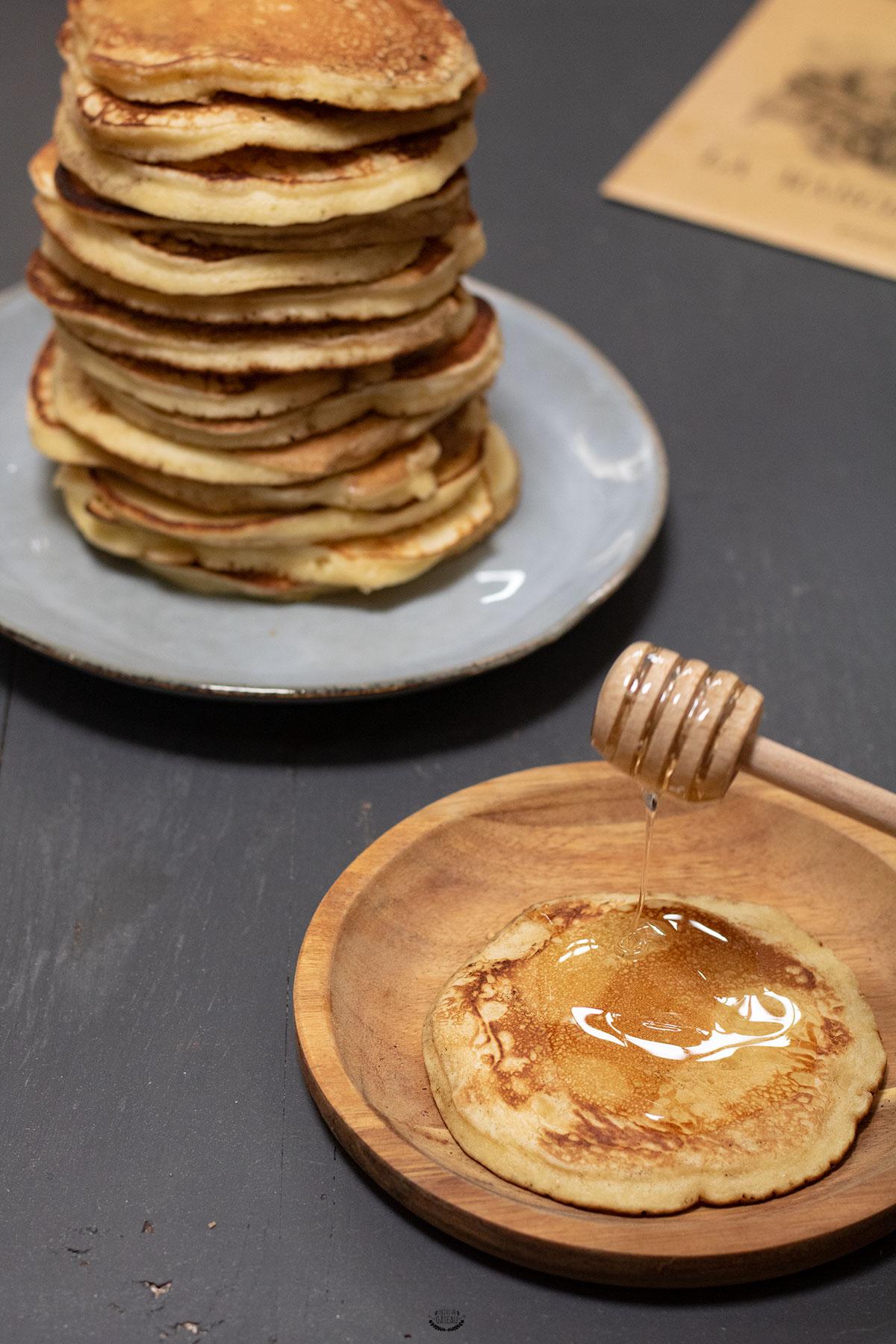 recette facile des pancakes moelleux
