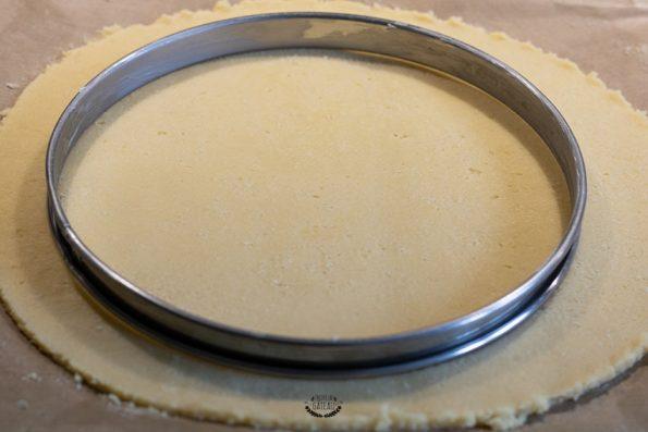 abaisse pâte tarte framboises lignac