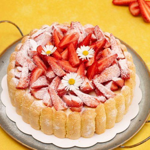 cap charlotte aux fraises
