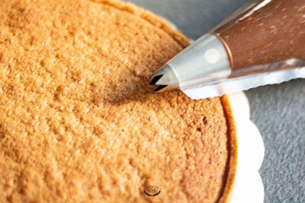 ganache chocolat tarte piémontaise