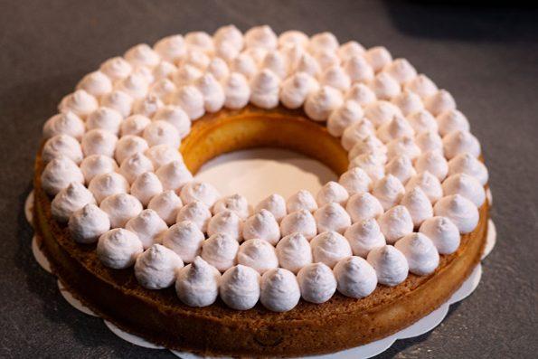 pochage crème tarte framboises lignac