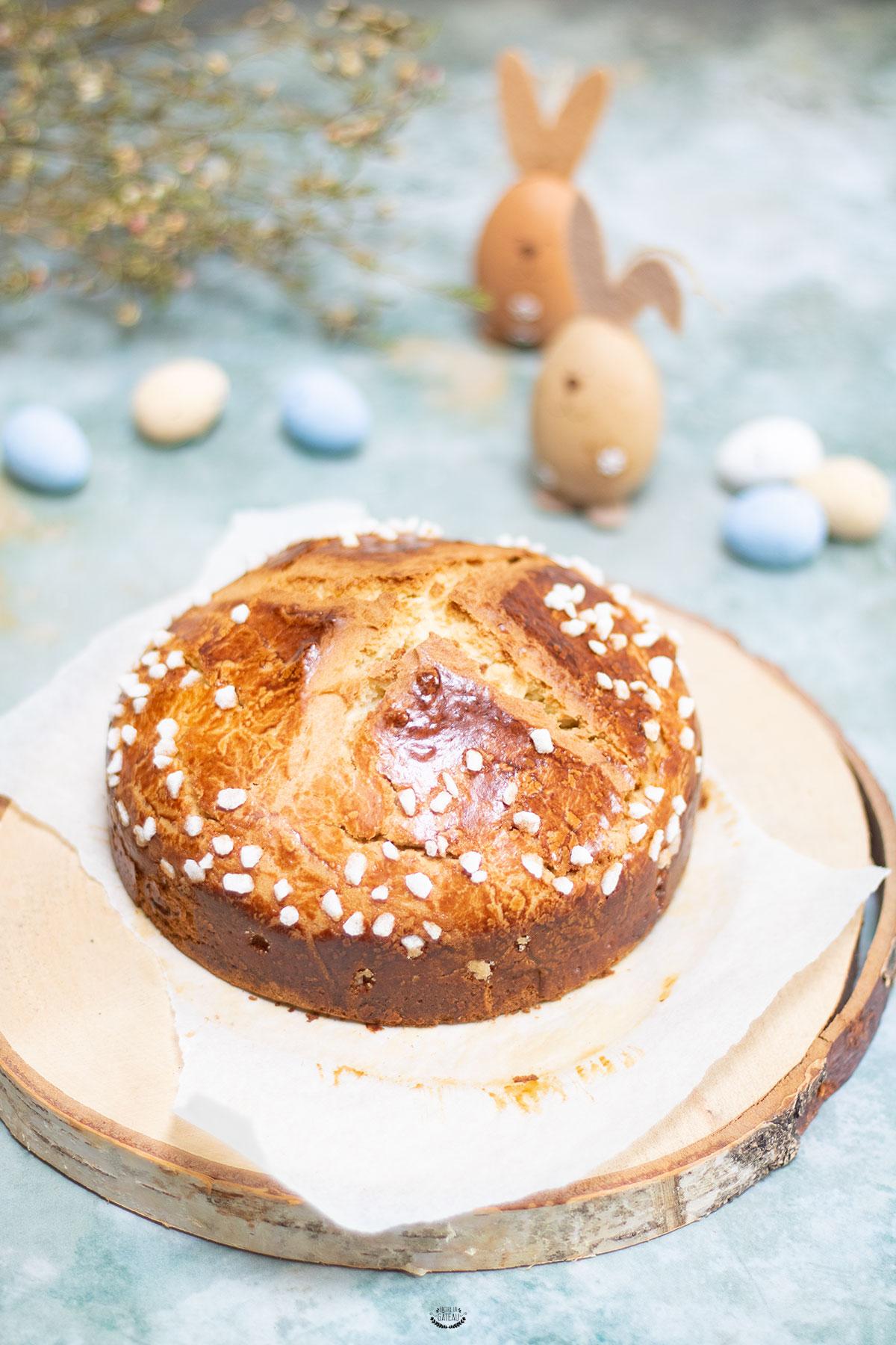 recette mouna de pâques