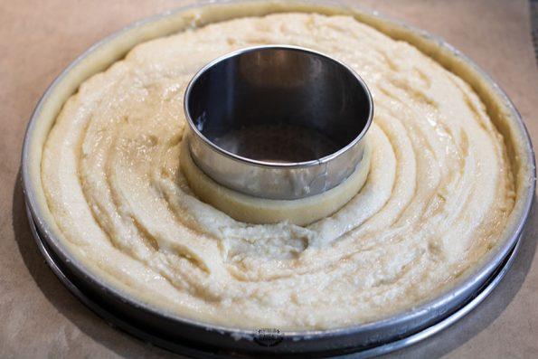 crème d'amandes tarte framboises lignac