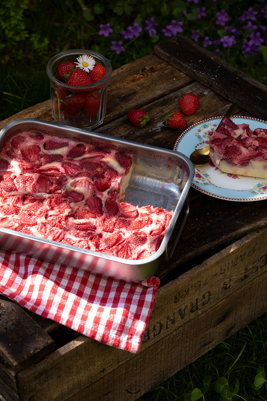 clafoutis aux fraises recette facile