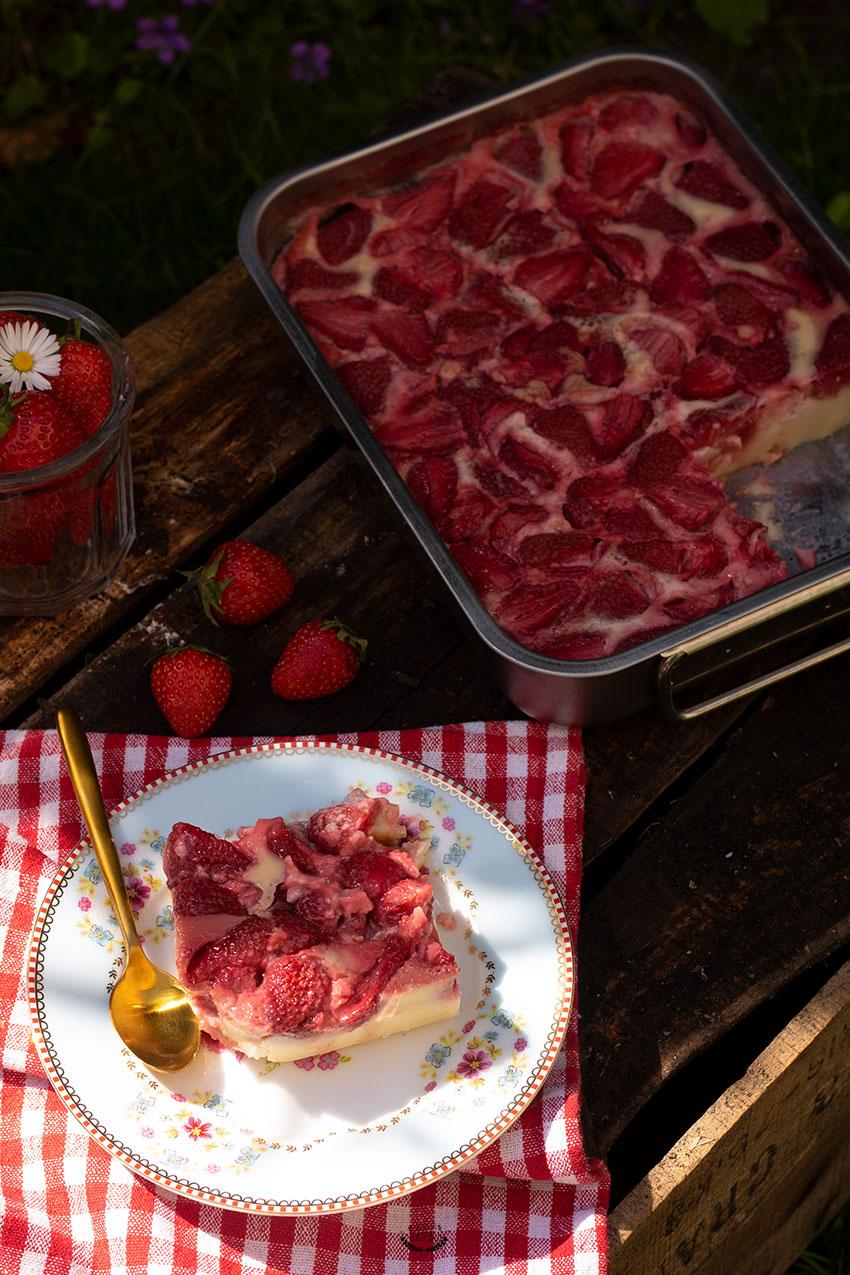 comment faire un clafoutis aux fraises