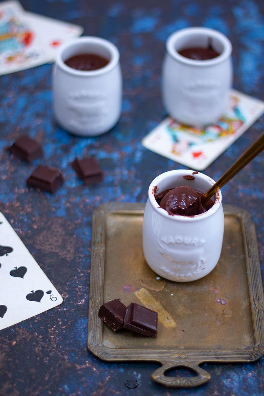 crèmes au chocolat faciles