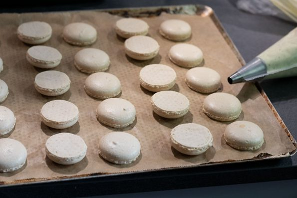 cuisson macarons vanille