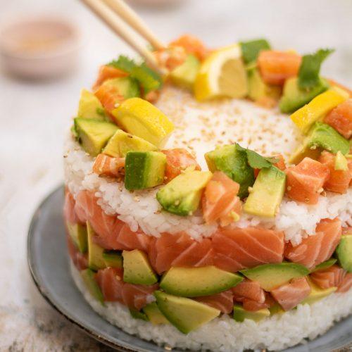 comment faire un sushi cake
