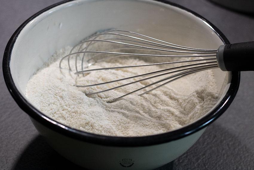 mélange poudres macarons vanille