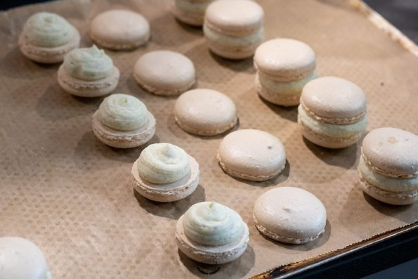 montage macarons vanille