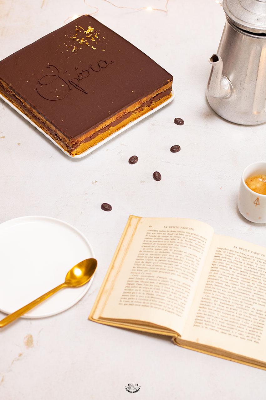 opéra au café recette détaillée