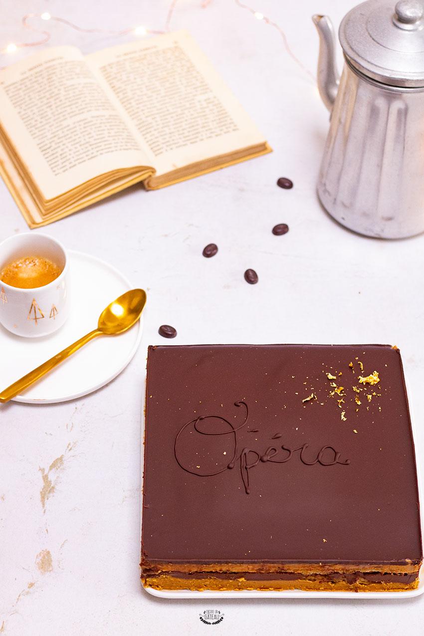 opéra au café recette facile