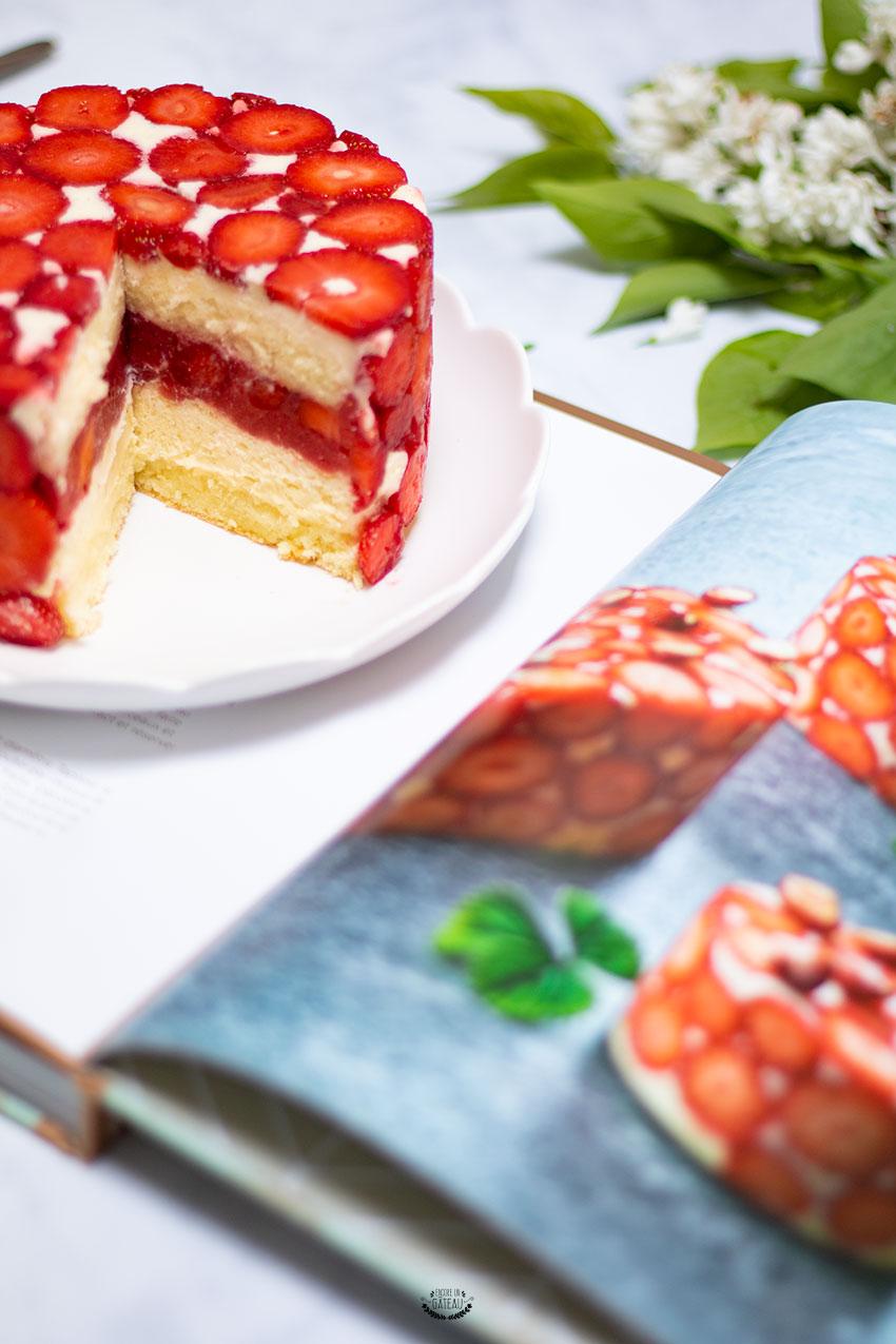 recette fraisier yann couvreur