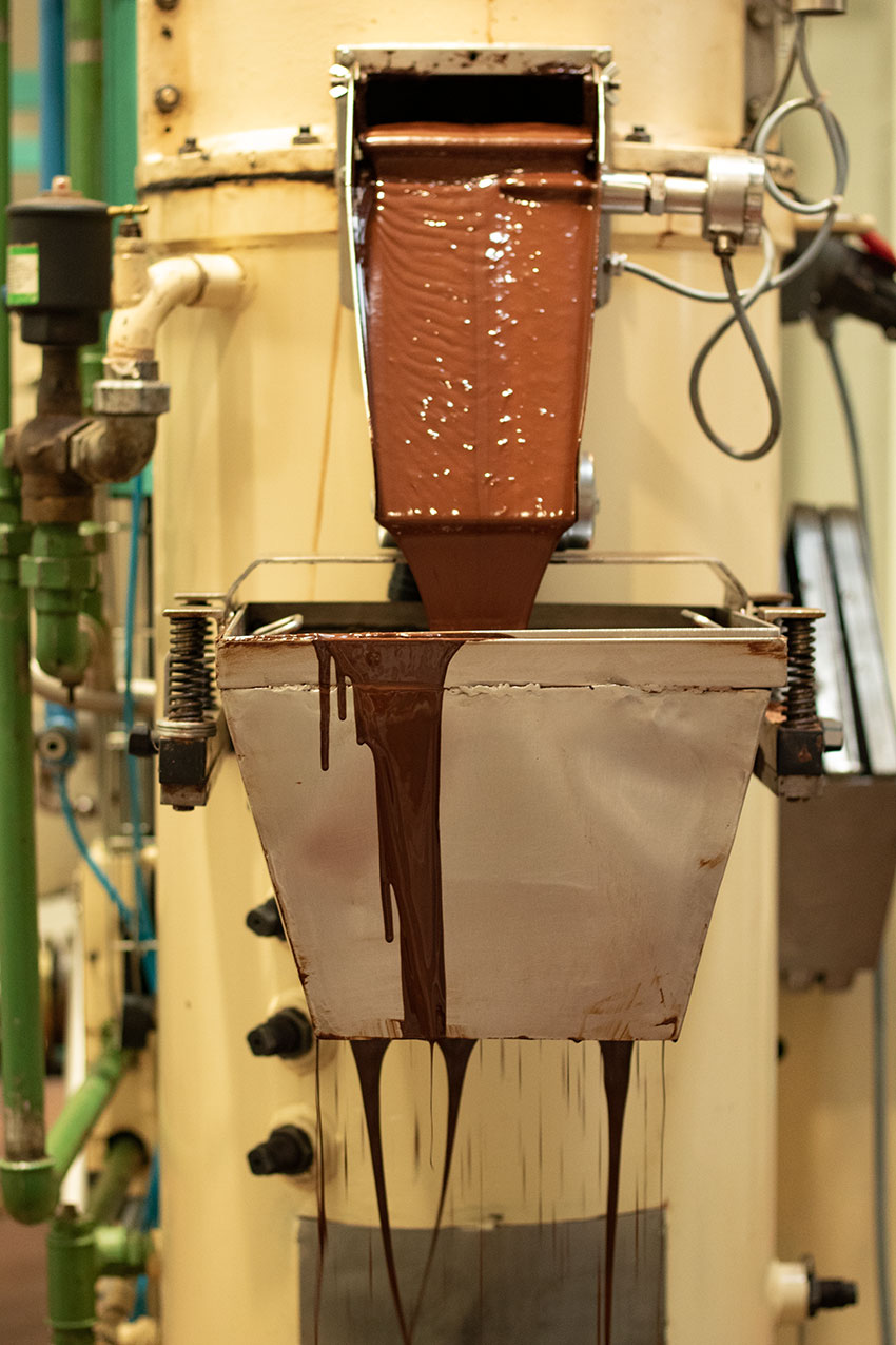 fabrication chocolat