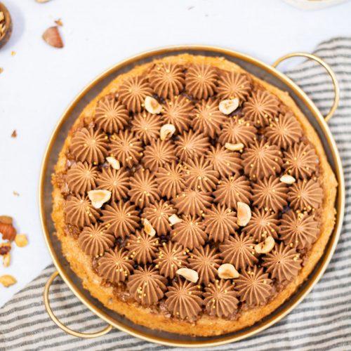 dacquoise noisette chocolat christophe michalak