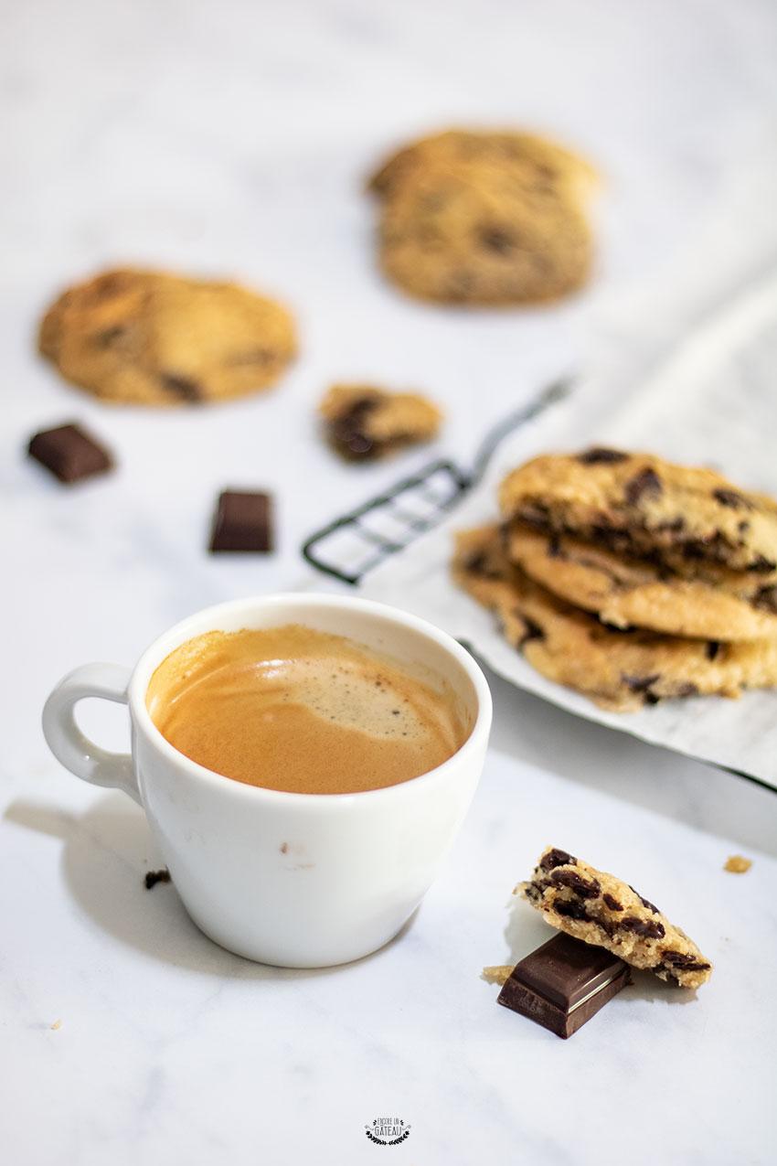 cookies pépites de chocolat Laura Todd