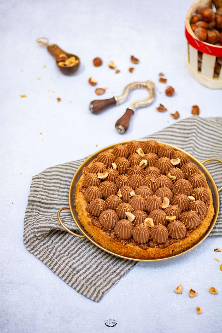 recette dacquoise noisette chocolat michalak