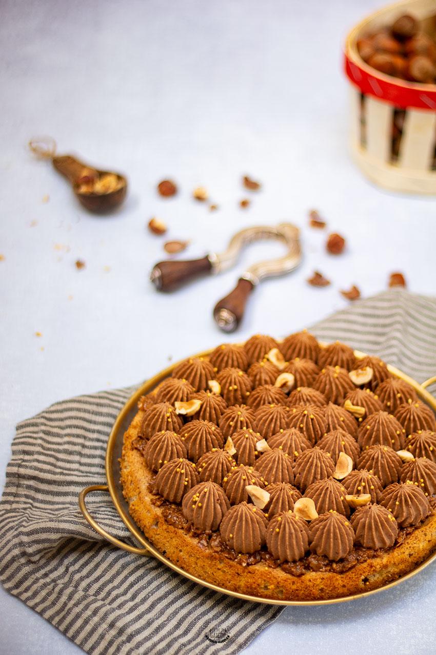 dacquoise chocolat noisette michalak